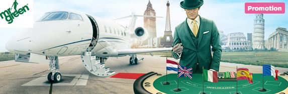 Mr Green Casino Around The World